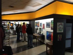 Red Raven gallery show