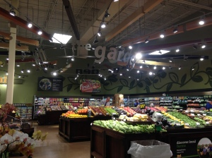 Expanded produce section
