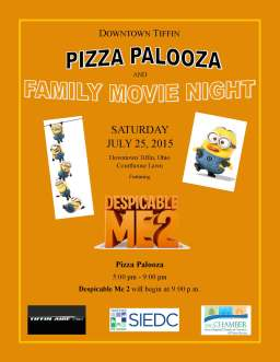 Pizza Palooza flyer 2015