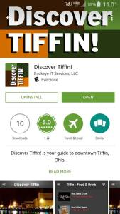 Discover Tiffin dl screen