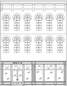 138 Facade Drawing