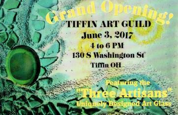 TAG Grand Opening Poster