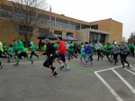 start of Tiffin St. Paddy's Day 5k 2018