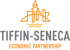 Tiffin-Seneca Economic Partnership Logo White